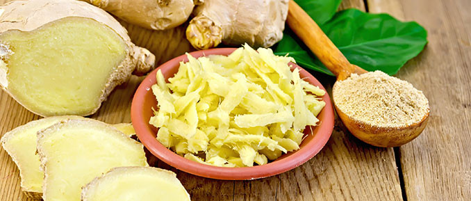 Epigenetic Health Benefits of Ginger Root