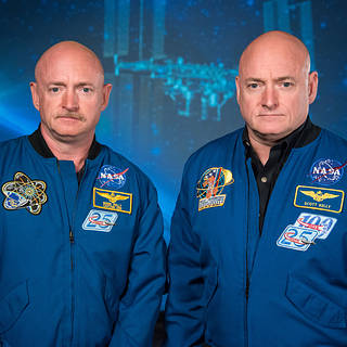 Mark and Scott Kelly Epigenetics Outer Space Twin Study