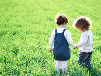 2 Children In Field Epigenetics Autism