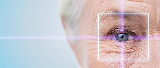 Elderly Woman Eye Epigenetics